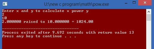 C Program To Calculate Power - pTutorial