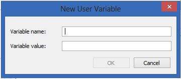 Java User Variable